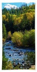 East Fork Autumn Beach Towel by Jason Coward