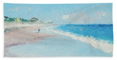 East Hampton Beach Beach Towel