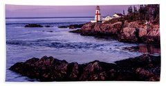 East Quoddy Head, Canada Beach Towel