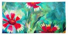 East Texas Wild Flowers Beach Towel
