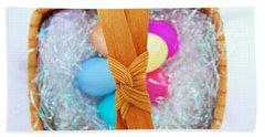 Easter Basket Beach Towel