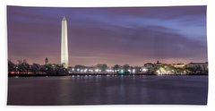 Beach Towel featuring the photograph Easter Blues by Edward Kreis