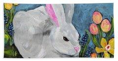 Easter Bunny  Beach Towel