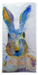 Easter Bunny Beach Sheet