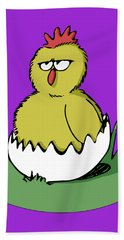 Easter Chicken Beach Towel