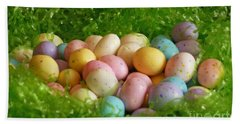 Easter Egg Nest Beach Sheet