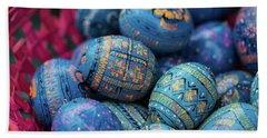 Easter Eggs Beach Sheet