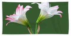 Easter Lilies Beach Sheet