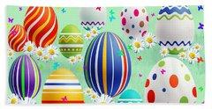Easter Beach Towel