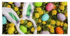 Beach Towel featuring the photograph Easter Morning by Teri Virbickis