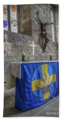 Beach Towel featuring the photograph Easter  The Resurrection Of Jesus by Ian Mitchell