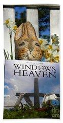 Easter Week Windows From Heaven Beach Towel