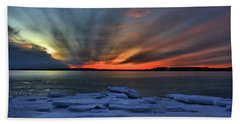 Eastern Lights  Beach Towel