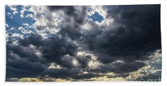 Eastern Montana Sky Beach Towel by Shevin Childers