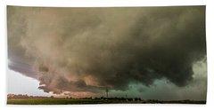 Eastern Nebraska Moderate Risk Chase Day 007 Beach Towel