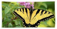 Eastern Tiger Swallowtail Butterfly Beach Sheet