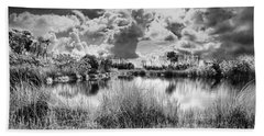 Everglades Lake 5678bw Beach Sheet
