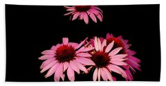 Echinacea Pop Beach Towel