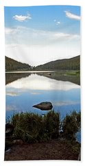 Echo Lake Study 1 Beach Towel