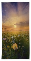 Echos The Sound Of Silence Beach Towel by Phil Koch