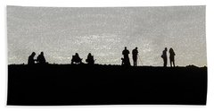 Eclipse Beach Sheet by Ann Johndro-Collins