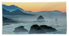 Ecola State Park  Beach Towel