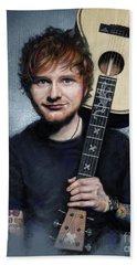 Ed Sheeran Beach Towel