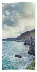 Edge Of The Sea Beach Towel