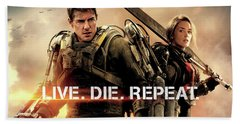 Edge Of Tomorrow Beach Towel