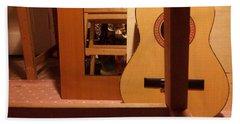 Edgeworth Acoustic Guitar Beach Towel