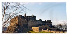 Edinburgh Castle Beach Towel