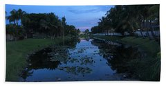 Eerie Canal Beach Towel