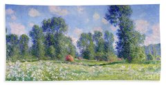 Effect Of Spring At Giverny Beach Towel