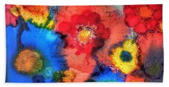 Efflorescence Beach Towel