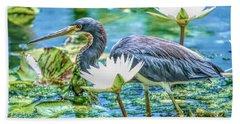 Egretta Tricolor Beach Sheet