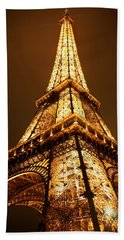 Eiffel Beach Towel by Skip Hunt