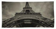 Eiffel Tower 1 Beach Towel
