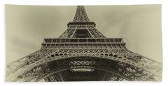 Eiffel Tower 2 Beach Towel