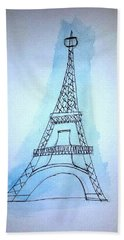 Eiffel Tower Beach Sheet