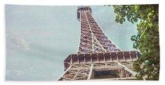 Eiffel Tower, Paris, France Beach Towel