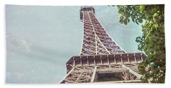 Eiffel Tower, Paris, France Beach Sheet