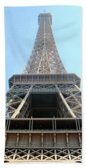 Eiffil Tower Paris France  Beach Towel