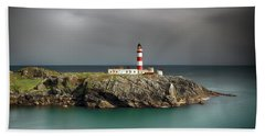 Beach Sheet featuring the photograph Eilean Glas Lighthouse by Grant Glendinning