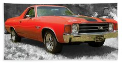 El Camino 1 Beach Towel
