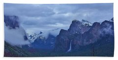 Beach Towel featuring the photograph El Capitan From Artist Point I by Phyllis Spoor