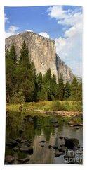 El Capitan Yosemite National Park California Beach Towel