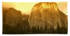 El Capitan Yosemite Valley Beach Towel