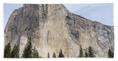 El Capitan Yosemite Valley Yosemite National Park Beach Towel
