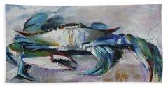 El Chapo Blue Crab Of The Chesapeake Beach Towel