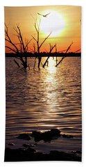 El Dorado Lake Morning Beach Sheet
